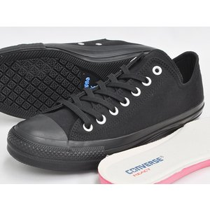 CONVERSE ALL STAR 100 COLORS OX 【コンバース オールスター 100周年 カラーズ オックス テンセル TENCEL】 BLACK MONOCHROME(1SC154)|gettry|03