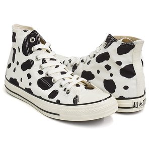 CONVERSE ALL STAR US COWSPOT HI 【コンバース オールスター ユーエス ハイ カウスポット 牛柄】 WHITE (1SC563) gettry