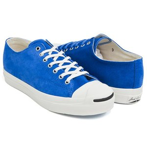 CONVERSE JACK PURCELL RET SUEDE 【コンバース ジャックパーセル レトロ スエード スウェード】 ROYAL BLUE (1CL405)|gettry