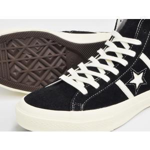 CONVERSE STAR&BARS SUEDE HI 【コンバース スター&バーズ スエード スウェード ハイ】 BLACK (1CL540) gettry 03