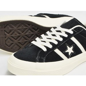 CONVERSE STAR&BARS SUEDE 【コンバース スター&バーズ スエード スウェード】 BLACK (1CL659)|gettry|03
