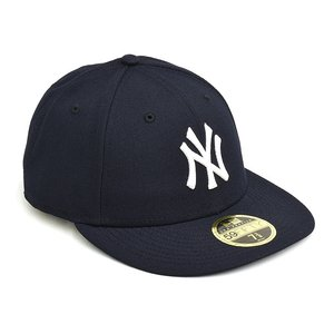 NEW ERA NEW YORK YANKEES AUTHENTIC LP 59FIFTY FITTED CAP 【ニューエラ ニューヨーク・ヤンキース 5950 フィッテド キャップ】 NAVY / BLACK UNDERVISOR|gettry
