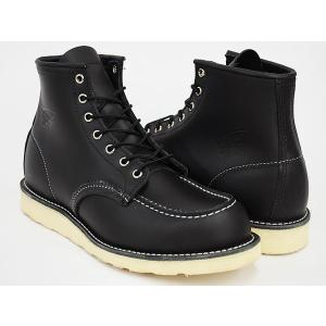 REDWING 6INCH MOC TOE BOOT ''IRISH SETTER'' #8130 〔レッドウィング 6インチ モックトゥ ブーツ〕 BLACK CHROME WIDTH:D|gettry