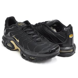 lowest price 423ae a5727 NIKE AIR MAX PLUS 【ナイキ エア マックス プラス】 BLACK / METALLIC GOLD