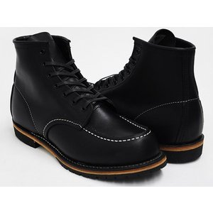 RED WING MOC TOE BECKMAN BOOTS #9015 【レッドウィング モック トゥ】 【ベックマン ブーツ】 BLACK ''FEATHERSTONE'' WIDTH:D|gettry