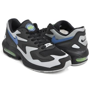 NIKE AIR MAX2 LIGHT 【ナイキ エア マックス スクアード ライト】 BLACK / THUNDERSTORM - WOLF GREY|gettry