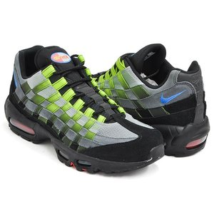 NIKE AIR MAX 95 WOVEN 【ナイキ エア マックス 95 ウーブン】 BLACK / PHOTO BLUE - VOLT|gettry