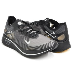 NIKE ZOOM FLY / GYAKUSOU 【ナイキ ズーム フライ ギャクソウ SP】 BLACK / SAIL - MINERAL YELLOW|gettry