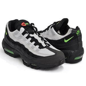 NIKE AIR MAX 95 ESSENTIAL 【ナイキ エア マックス エッセンシャル】 BLACK / ELECTRIC GREEN - PLATINUM TINT|gettry