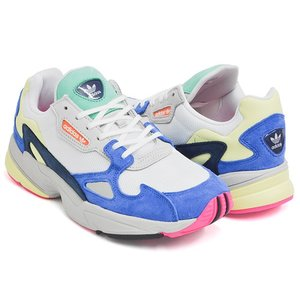hot sale online 88ad1 1593c adidas FALCON W アディダス ファルコン ウィメンズ FLCN FTWWHT  FTWWHT  BLUE gettry ...