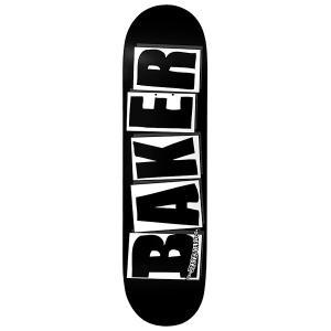 BAKER SKATEBOARDS BRAND LOGO BLACK / WHITE DECK 【ベイカー ブランド ロゴ デッキ】  8INCH gettry