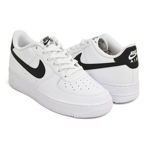 NIKE AIR FORCE 1 (GS) 【ナイキ エア フォース ジーエス グレード スクール】 WHITE / BLACK|gettry