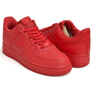 NIKE AIR FORCE 1 '07 LV8 1 【ナイキ エア フォース エレベート レッド 赤】 UNIVERSITY RED / UNIVERSITY RED - BLACK|gettry