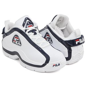 bd5ae3d5c227 FILA 96 GL LOW  フィラ ジーエル ロウ ロー グラント・ヒル GRANT HILL 2  WHITE   FILA NAVY    FILA RED (1BM00571-125)