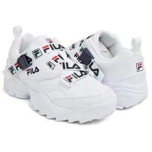 FILA FAST CHARGE ''GETTRY EXCLUSIVE'' 【フィラ ファストチャージ】 WHITE / FILA NAVY / FILA RED (5FM00795-125)|gettry