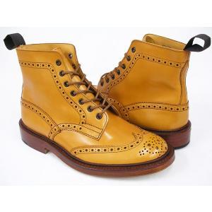Tricker's COUNTRY BOOTS MALTON #M2508 〔トリッカーズ カントリーブーツ〕 〔モールトン〕 ACORN ANTIQUE CALF FITTING:5(Eワイズ相当)|gettry