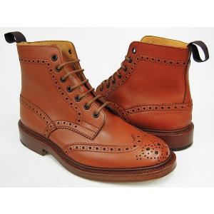 Tricker's COUNTRY BOOTS MALTON #M2508 〔トリッカーズ カントリーブーツ〕 〔モールトン〕 C SHADE GORSE FITTING:5(Eワイズ相当)|gettry