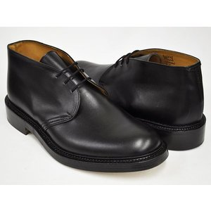 Tricker's CHUKKA BOOTS WINSTON #M7468 〔トリッカーズ チャッカブーツ〕 〔ウィンストン〕 BLACK BOX CALF FITTING:5(Eワイズ相当)|gettry