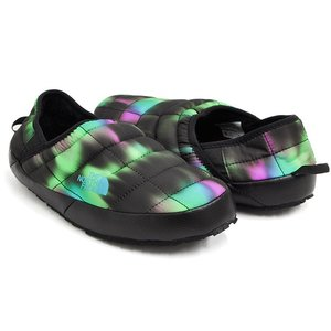 THE NORTH FACE WOMEN'S THERMOBALL ECO TRACTION MULE V 【ザ・ノース・フェイス ウィメンズ】 NORTHERN LIGHTS PRINT / TNF BLACK|gettry