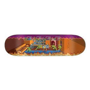 Santa Cruz TMNT ARCADE EVERSLICK SANTA CRUZ SKATEBOARD DECK 【サンタクルーズ アーケード エバースリック スケートボードデッキ】 8.5in x 32.2in gettry