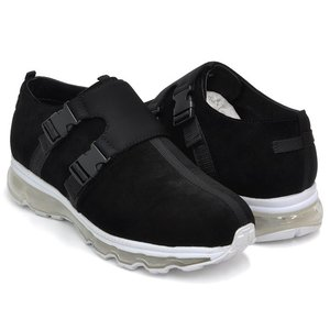 Tomo & Co x Name. DOUBLE MONK 【トモ アンド シーオー ネーム ダブルモンク】 BLACK NUBUCK / WHITE SOLE|gettry