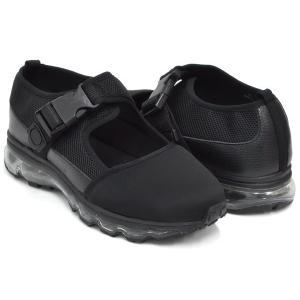 Tomo & Co T CAP SANDAL 【トモ アンド シーオー ティーキャップ サンダル トゥ】 BLACK / BLACK SOLE|gettry