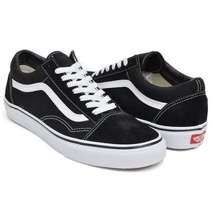 VANS OLD SKOOL 【バンズ オールドスクール】 BLACK / WHITE|gettry