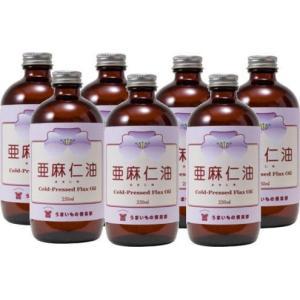 亜麻仁油(フローラ社) 230g 7本セット