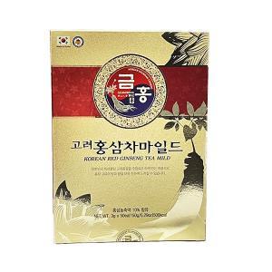高麗人参 紅参茶 3g×50包 錦紅ブランド|geumhong