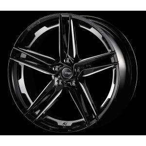ESTATUS Style-757 (エステイタス スタイル-757) 20インチ 9.5J インセット38 5H/112 「ブラックサイドマシニング」 1本 アルミホイール wheel|gfactory
