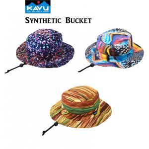 50%OFF KAVU カブー Synthetic Bucket Hat ハット アウトドア SUP 釣り 登山 水陸|gfcreek