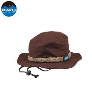 KAVU カブー Strap Bucket Hat ハット アウトドア SUP 釣り 登山 キャンプ CHOCOLATE チョコレート|gfcreek