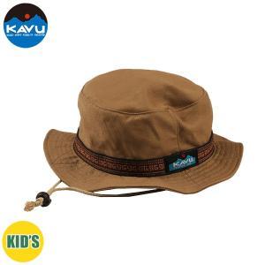 子供用 KAVU カブー Ks Bucket Hat ハット キッズ ジュニア 子供用 キャンプ アウトドア SUP 釣り 登山 水陸 DEEP BEIGE ベージュ おしゃれ|gfcreek