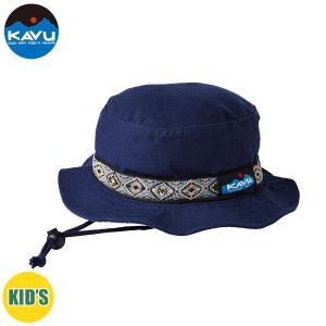 子供用 KAVU カブー Ks Bucket Hat ハット キッズ ジュニア 子供用 キャンプ アウトドア SUP 釣り 登山 水陸 Prussian Blue ネイビー おしゃれ|gfcreek