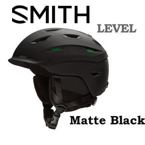 19-20 SMITH 40% OFF スミス レベル 【SMITH LEVEL 】 スノーボード スキー ヘルメット スノボ HELMET MATTE BLACK 日本正規品|gfcreek