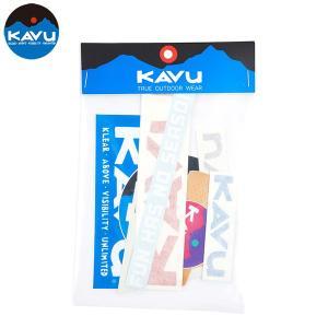 【ネコポス便発送可】KAVU カブー Sticker Pack ステッカー セット アウトドア 登山 キャンプ おしゃれ gfcreek