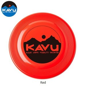 KAVU カブー ディスクはKAVUロゴの入ったフリスビーです。本格的なフリスビーメーカーのものを採...