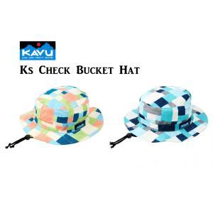 50%OFF 子供用 KAVU カブー Ks Check Bucket Hat ハット キッズ ジュニア 子供用 キャンプ アウトドア SUP 釣り 登山 水陸|gfcreek