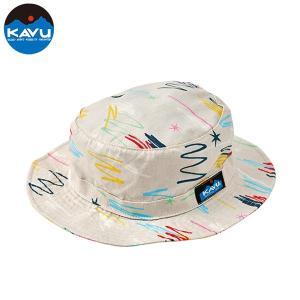 50%OFF KAVU カブー Graffiti Bucket Hat ハット キャンプ アウトドア SUP 釣り 登山 おしゃれ KINARI|gfcreek
