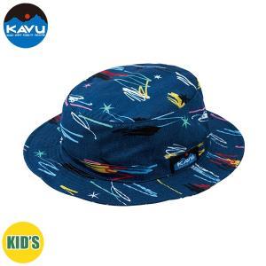 50%OFF 子供用 KAVU カブー K's Graffiti Bucket Hat ハット キッズ ジュニア 子供用 キャンプ アウトドア SUP 釣り 登山 NAVY おしゃれ|gfcreek