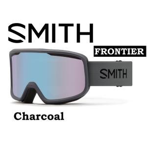 20-21 30% OFF SMITH スミス フロンティア アジアンフィット 【SMITH FRONTIER CHARCOAL 】 スノーボード スキー ゴーグル スノボ GOGGLE 日本正規品|gfcreek