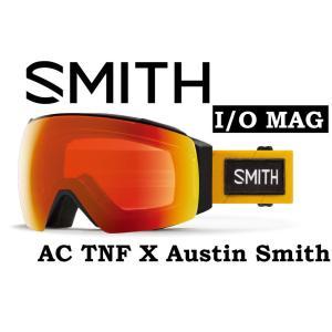 20-21 30% OFF SMITH スミス I/O MAG アジアンフィット 【SMITH IO MAG TNF AUSTIN 】 ノースフェイス スノーボード スキー ゴーグル スノボ GOGGLE 日本正規品|gfcreek