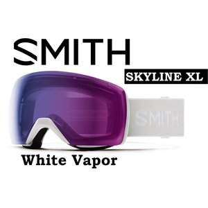 20-21 40% OFF SMITH スミス クロマポップ アジアンフィット 【SMITH SKYLINE XL WHITE VAPOR 】 スノーボード ゴーグル スノボ GOGGLE 日本正規品|gfcreek