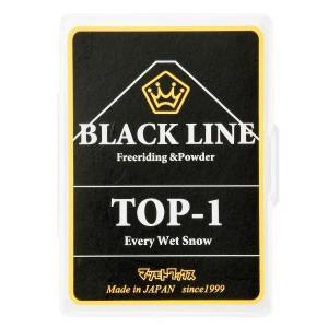 【ネコポス便発送可】マツモトワックス BLACKLINE TOP-1 スキー スノーボード チューンナップ ホットワックス 簡易|gfcreek