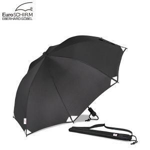 EuroSCHIRM ユーロシルム SWING LITEFLEX スイングライトフレックス 雨 傘 日除け キャンプ 登山 リフレクト ブラック 反射 安全 アンブレラ|gfcreek