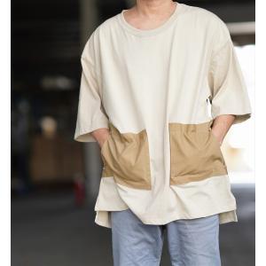 《予約》ビッグシルエット Tシャツ ポケット TEE アパレル オリジナル ガレージ ブランド 綿 コットン 100 GFC キャンプ アウトドア 焚き火 オシャレ 予約特典|gfcreek
