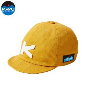 KAVU カブー BASEBALL CAP キャップ キャンプ アウトドア SUP 釣り 登山 MUSTARD おしゃれ|gfcreek