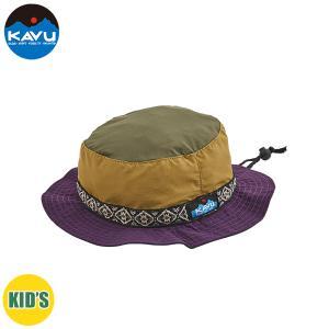 子供用 KAVU カブー K's 60/40 STRAP HAT ストラップハット キッズ ジュニア 子供用 キャンプ アウトドア SUP 釣り 登山 UGLY おしゃれ|gfcreek