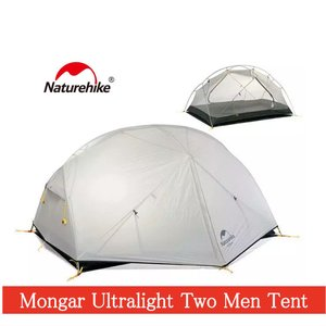 【NatureHike】MONGER 2人用テント ダブルウォールテント キャンプテント 紫外線防止 アウトドア 登山 テント ツーリング 災害 防災 自立|gfcreek