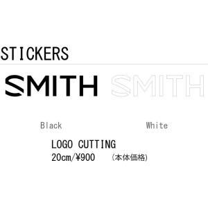 【送料無料(一部地域は除く)】SMITH スミス LOGO CUTTING STICKER 20cm ロゴ カッティング ステッカー 登山 釣り アウトドア スケート スノーボード スキー gfcreek